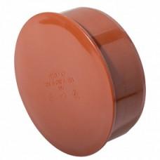Заглушка кан. раструбная 110 ПП (наруж)